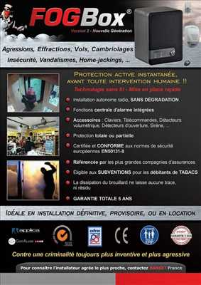 Exemple alarme n°101 zone Vaucluse par Taillepied Service