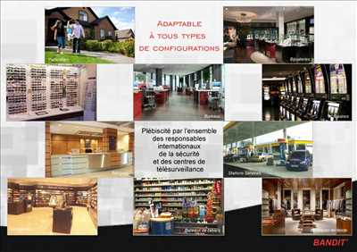 Exemple vidéoprotection n°105 zone Vaucluse par Taillepied Service