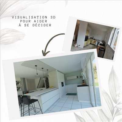 Photo décoration n°218 à Aix-les-Bains par Christina Lopez DECORATION INTERIEURE