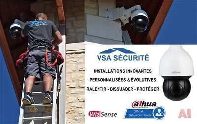 Photo vidéoprotection n°271 dans le département 74 par VSA SÉCURITÉ