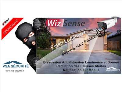 Exemple vidéoprotection n°293 zone Haute Savoie par VSA SÉCURITÉ
