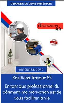Exemple peinture n°341 zone Var par Solutions