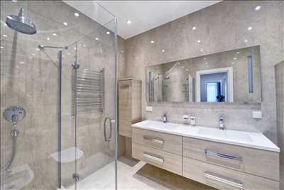 Photo n°4 : salle de bain par l'utilisateur Gs Renov