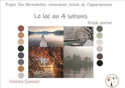 Exemple décoration n°433 zone Haute Savoie par SOPHIE